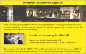 GTV Vereinsheim